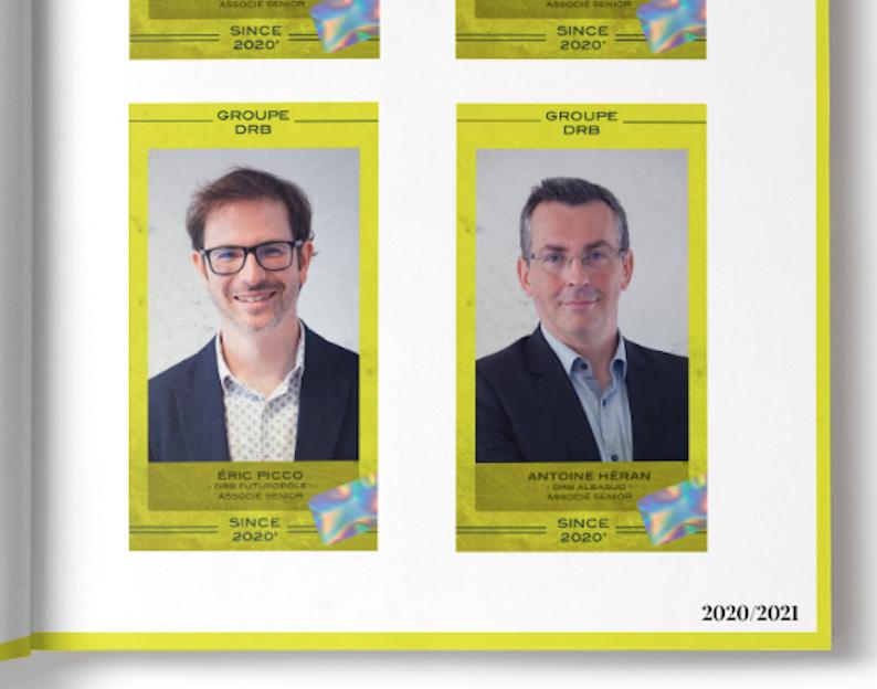 Eric Picco et Antoine Heran deviennent associés séniors du Groupe DRB